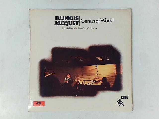 Genius At Work! LP By Illinois Jacquet