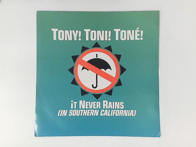 It Never Rains (In Southern California) 12in Single By Tony Toni Ton