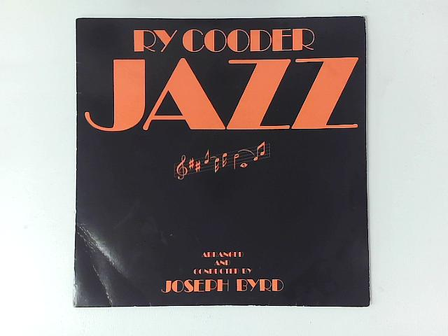 Jazz LP with PRINTED INNER SLEEVE By Ry Cooder