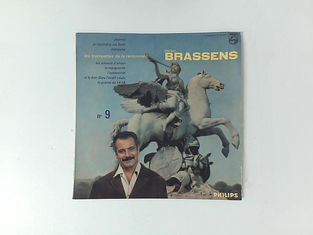 N° 9 10in LP By Georges Brassens