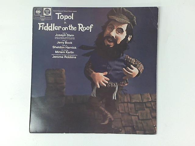 Fiddler On The Roof (Original London Cast) LP By Jerry Bock