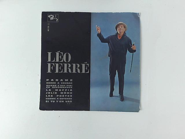 Léo Ferré 10in By Lo Ferr