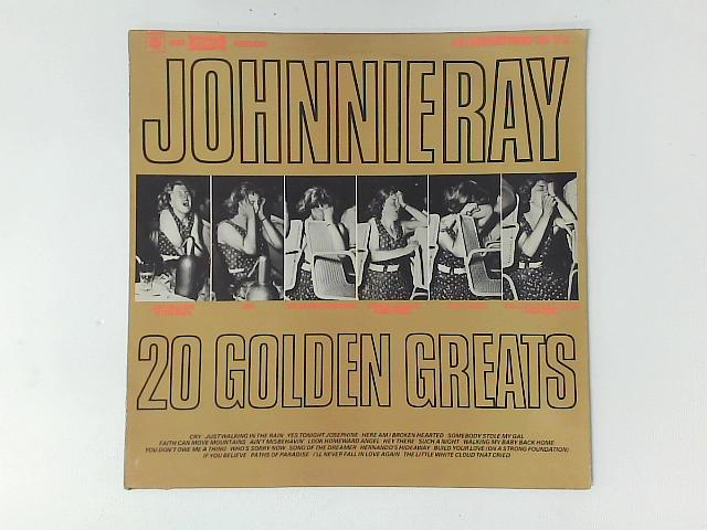 20 Golden Greats LP By Johnnie Ray