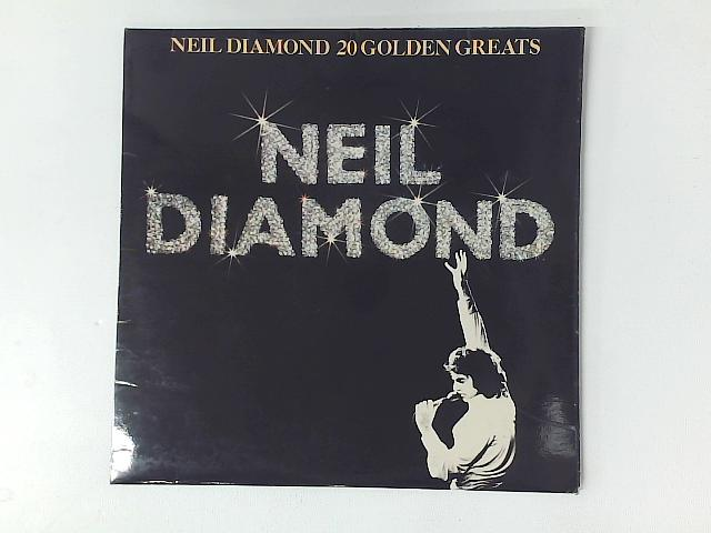 20 Golden Greats LP COMP with PRINTED INNER SLEEVE By Neil Diamond