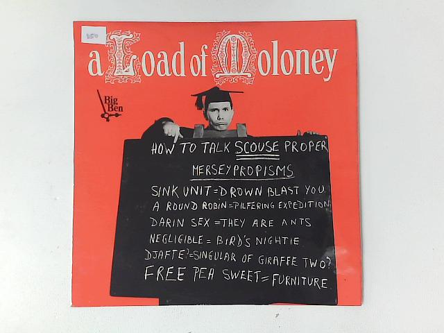 A Load Of Moloney LP By Peter Moloney