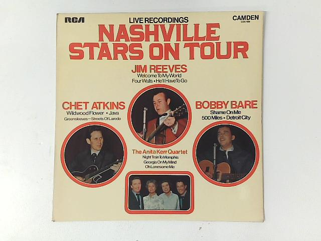 Nashville Stars On Tour - Live Recordings LP By Chet Atkins