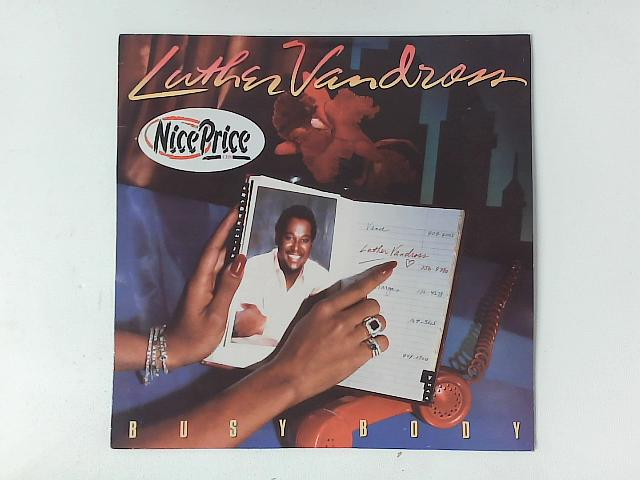 Busy Body LP By Luther Vandross