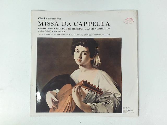 Missa Da Cappella / Ricercar / Audi Domine Hymnum - Deus In Nomine Tuo LP By Claudio Monteverdi