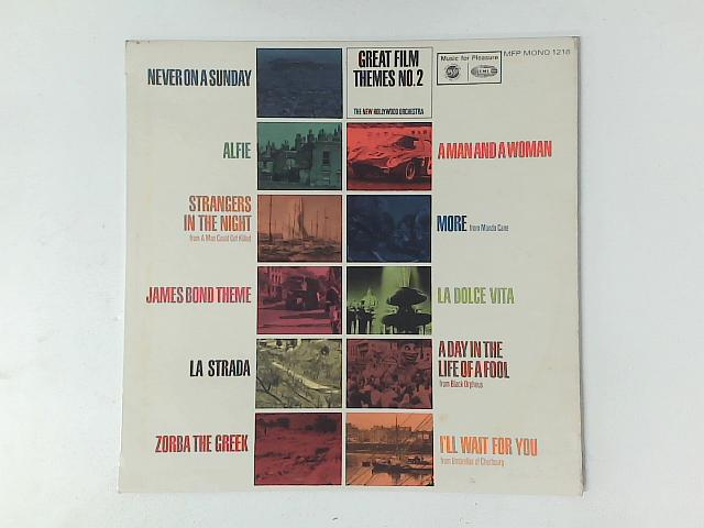 Great Film Themes No. 2 LP By New Hollywood Orchestra