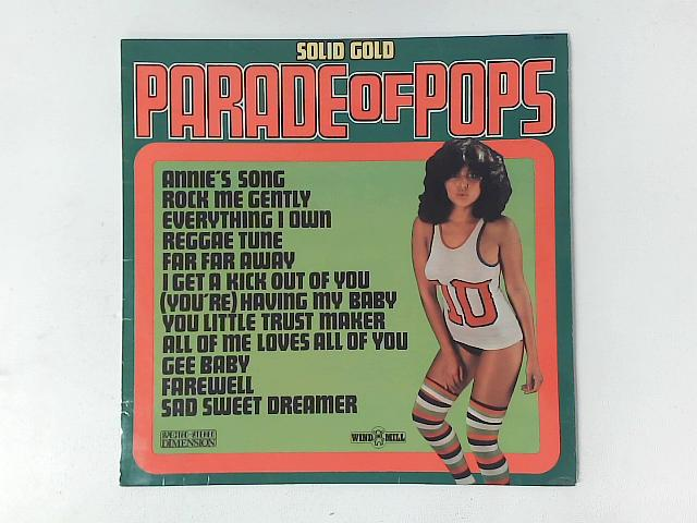 Solid Gold Parade of Pops Vol.18 LP By Unknown Artist