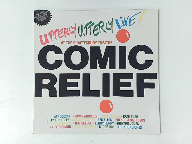 Comic Relief Presents Utterly Utterly Live LP By Various