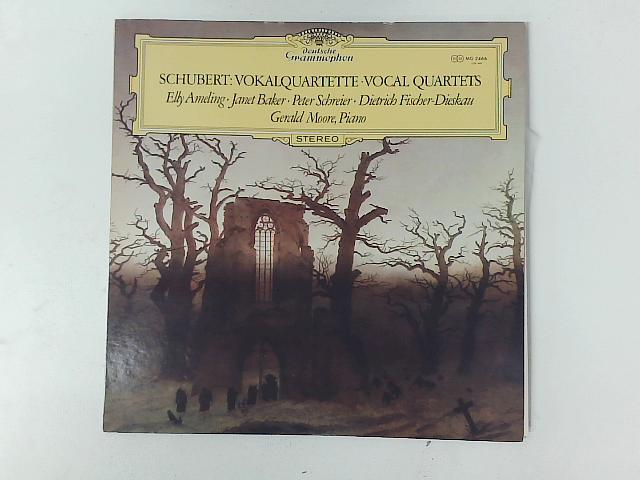 Vokalquartette Vocal Quartets LP By Franz Schubert