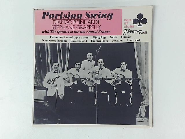 Parisian Swing LP By Reinhardt  Grappelly  Quintet of the Hot Club of France
