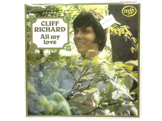 All My Love LP By Cliff Richard