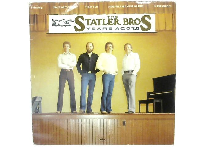 Years Ago LP By The Statler Brothers