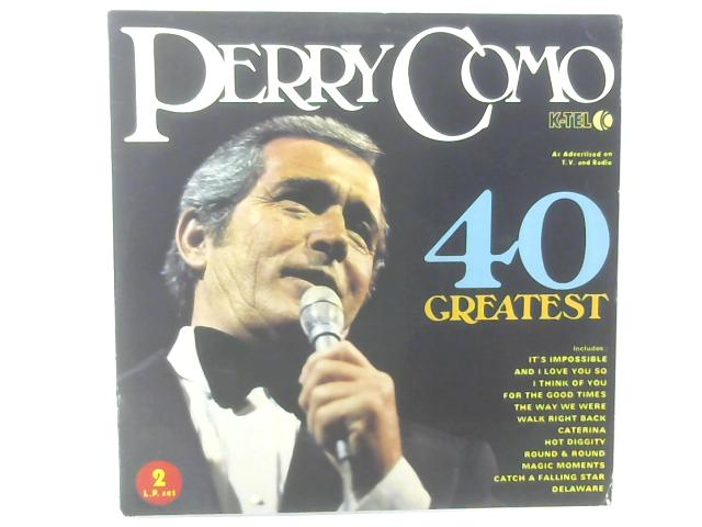 40 Greatest 2xLP COMP By Perry Como