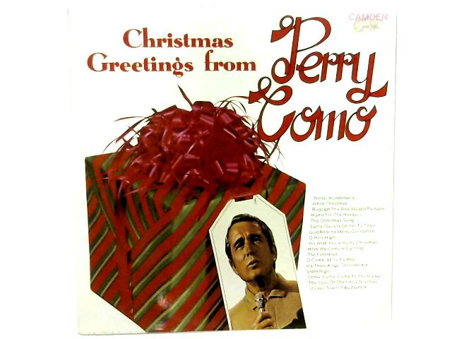 Christmas Greetings From Perry Como LP By Perry Como