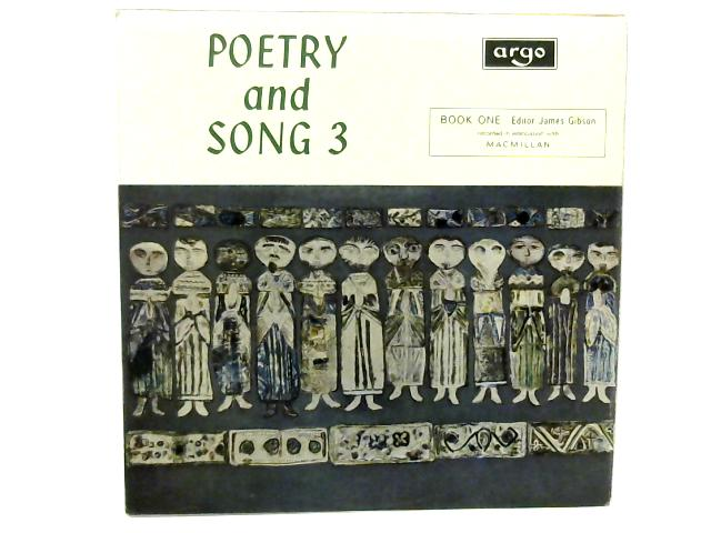 Poetry and Song 3 LP By Various