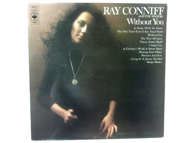 Without You LP By Ray Conniff And The Singers