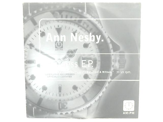 Witness EP By Ann Nesby