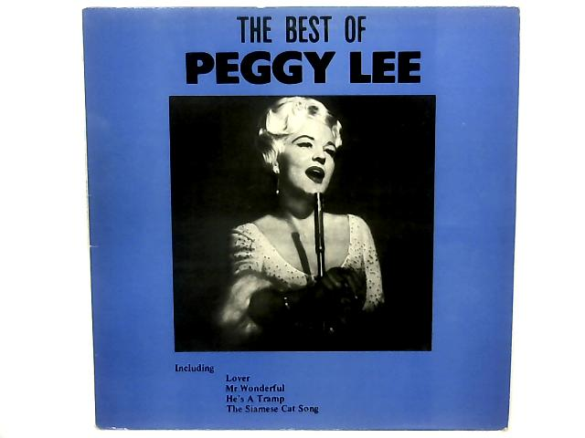 The Best Of Peggy Lee COMP By Peggy Lee