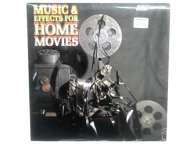 Music And Effects For Home Movies LP By No Artist