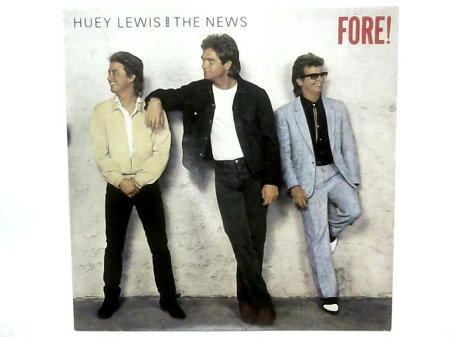 Fore! LP By Huey Lewis & The News