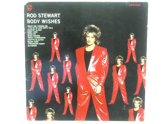 Body Wishes LP By Rod Stewart