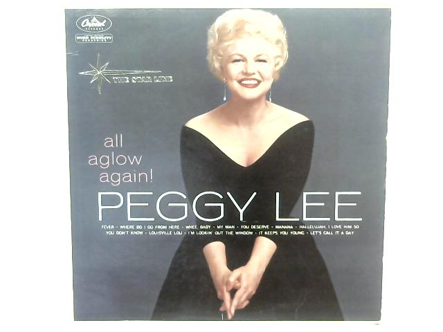 All Aglow Again LP By Peggy Lee