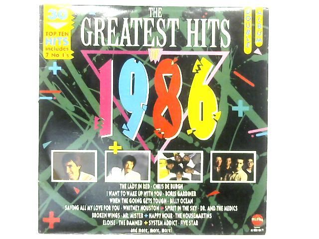 The Greatest Hits Of 1986 2xLP COMP By Various