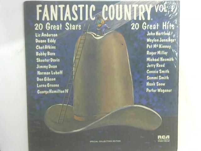 Fantastic Country Vol. 1 LP By Various