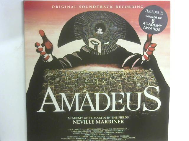 Amadeus (Original Soundtrack Recording) 2x LP By Sir Neville Marriner
