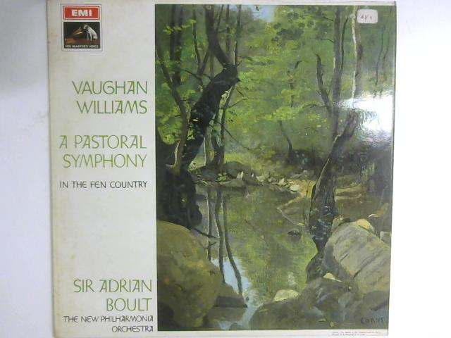 A Pastoral Symphony / In The Fen Country LP By Ralph Vaughan Williams