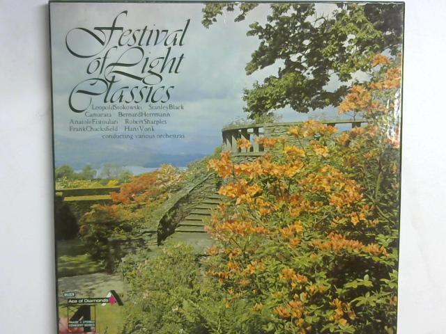 Festival Of Light Classics 3x LP box set By Various