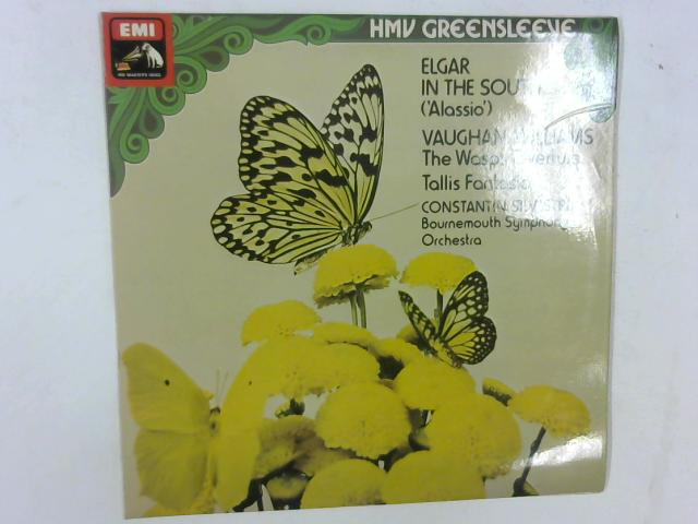 In The South; The Wasps Overture; Tallis Fantasia LP By Sir Edward Elgar