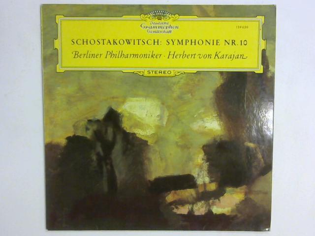 Symphonie Nr. 10 LP By Dmitri Shostakovich