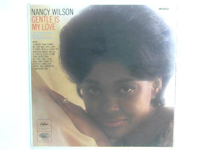 Gentle Is My Love LP UK mono By Nancy Wilson