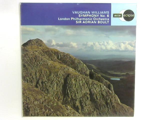 Symphony No. 6 LP By Ralph Vaughan Williams