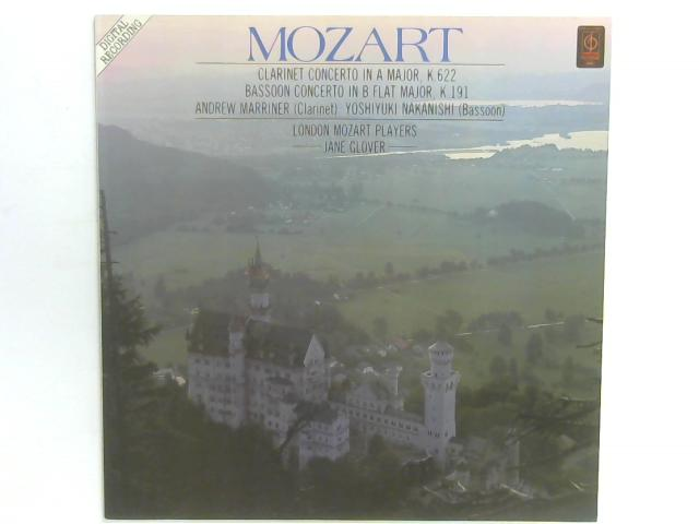 Mozart Clarinet Concerto in A Major, K.622 LP By London Mozart Players