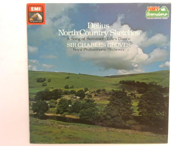 Delius North Country Sketches LP By Frederick Delius
