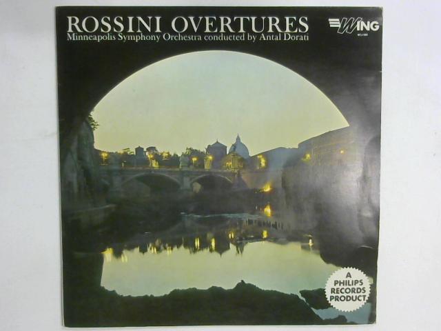 Rossini Overtures LP By Gioacchino Rossini