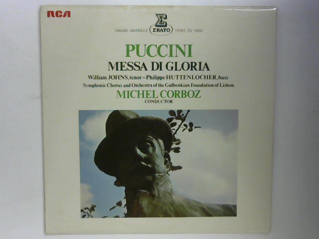 Messa Di Gloria (Pour Soli, Chœur Et Orchestre) LP By Giacomo Puccini