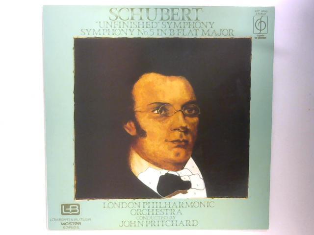 """Unfinished"" Symphony / Symphony No. 5 In B Flat Major LP By Franz Schubert"