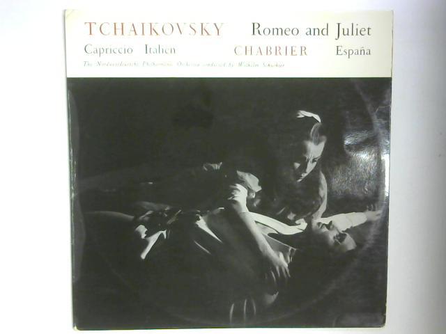 Tchaikovsky: Romeo And Juliet, Capriccio Italien / Chabrier: España LP By Pyotr Ilyich Tchaikovsky