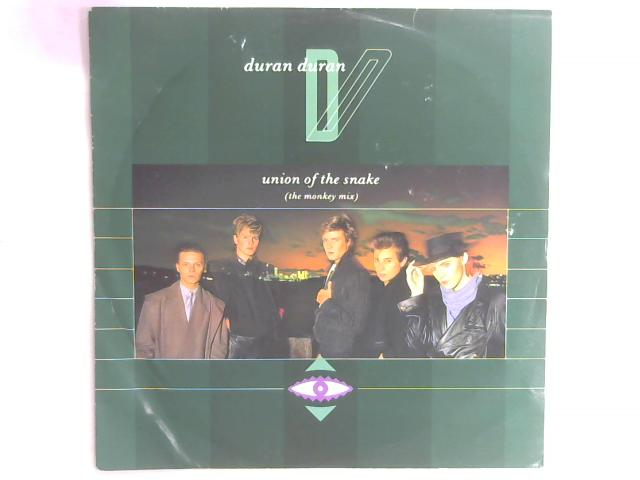 Union Of The Snake 12in Single By Duran Duran