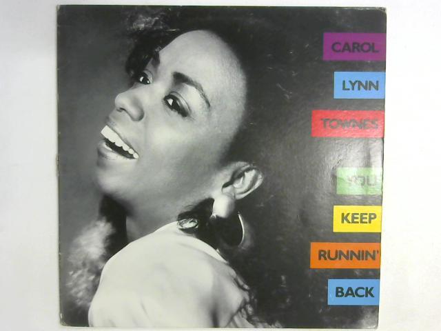 You Keep Runnin' Back LP By Carol Lynn Townes