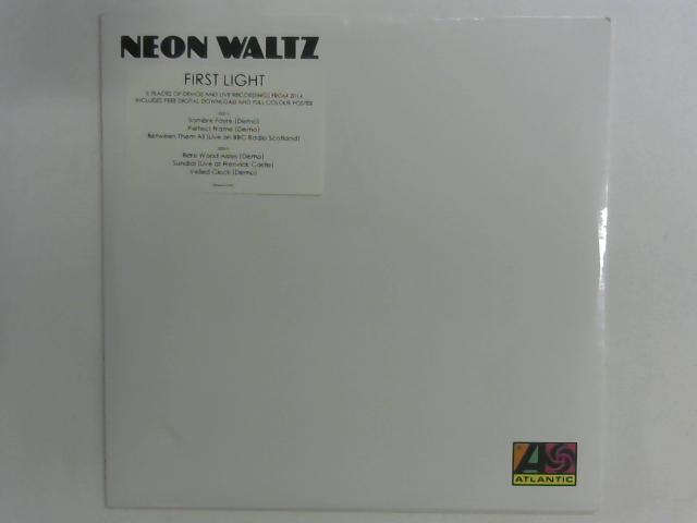 First Light LP Sealed By Neon Waltz