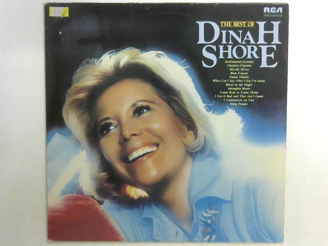 The Best Of Dinah Shore LP By Dinah Shore