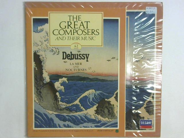 La Mer And Nocturnes LP By Claude Debussy