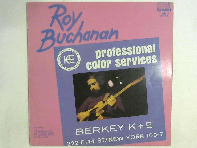 Roy Buchanan LP By Roy Buchanan